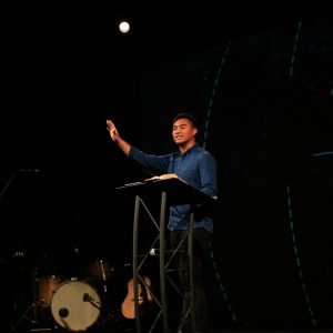 Aaron Sabio, past intern and current youth pastor